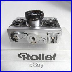 Rollei 35 S 35S 35mm Film Camera Sonnar 40mm 12.8 Strap Leather Case Pouch