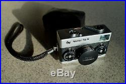 Rollei 35S 35mm Point & Shoot Film Camera VERY CLEAN with leather case