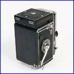^ Rollei Magic II TLR Camera with Xenar 75mm f3.5 Lens + Leather Case! EX+++