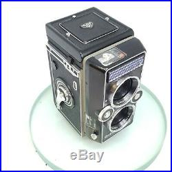 Rollei Magic II medium format TLR Analoge Camera with Xenar 75mm with Leather case