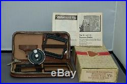Rollei Rolleicord Vb Type 2, 1970/71 MF Film Camera with Leather Case & 16 Exp