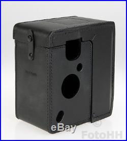 Rollei Rolleiflex Ft Black Leather Case For 4.0 Ft / Rollei Number 17014 / New