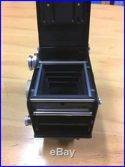 Rolleiflex 2.8D TLR film camera Excellent+++++ Includes leather case and strap