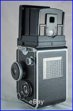 Rolleiflex 3.5F camera, Obj. Carl Zeiss, Exc +++ condition, with leather case