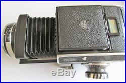 Rolleiflex Sl66 Medium Format Camera, With Leather Case, Strap And User Manual