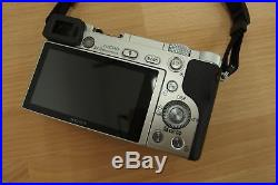 #SONY A6000 ILCE-6000 Digital Camera with E16-50mm Lens Plus Leather Case UK SHIP