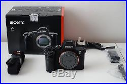 SONY Alpha A7ii Camera Body Only A7 II PLUS FREE PU leather half brown case