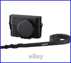 SONY Cyber-shot DSC-RX100 I High Performance Compact Camera & Leather Case-Black