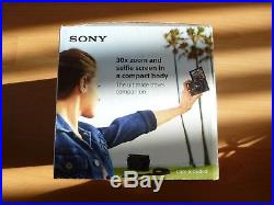 SONY Cyber-shot DSC-WX500 18.2MP DIGITALl CAMERA- BLACK + FREE LEATHER CASE
