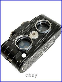 Sawyers ViewMaster 35mm Film Personal 3D Stereo Camera With Leather Case