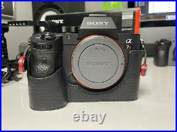 Sony A7RIII 42MP Camera + Leather Case + Cage EXCELLENT