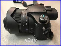 Sony Cyber-shot DSC-RX10 IV Digital Camera with Fitted Leather Case, EXTRAS
