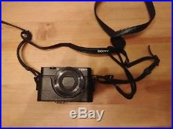 Sony Cyber-shot DSC-RX100 20.2MP Digital Camera with Sony leather case