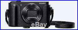 Sony Cyber-shot Dsc-wx500 18.2mp Digital Camera. Brand New With Leather Case