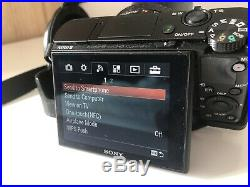 Sony Cyber-shot RX100 III 20.1MP Digital Camera Black, With Leather Case