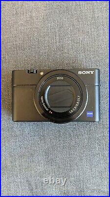 Sony Cyber-shot RX100 III 20.1MP Digital Camera With Genuine Leather case