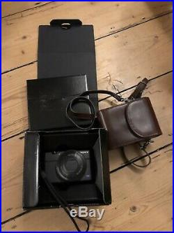 Sony Cybershot RX-100 compact Digital Camera With Leather Case And Memory Card