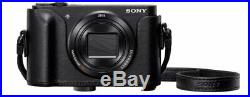 Sony Dsc-wx500 Compact Digital Camera Black. Brand New With Leather Case