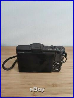 Sony RX 100 Mk II best compact camera used, fully working, with leather case