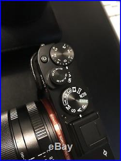 Sony RX1R Camera + Sony EVF + Sony Leather Case/Strap Bundle IMMACULATE