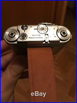 Tessina with leather wrist strap and case Spy camera Great condition