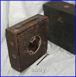 The Anthony & Scovill Co. 6 1/2 x 8 1/2 Leather Covered Compact Camera with Case