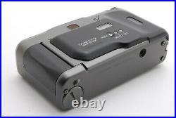 Top MintContax T2 Titan Black Film Camera with Leather Case from Japan-#2966