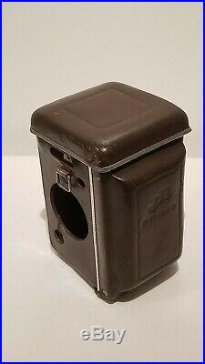 Topcon Primo Jr TLR 4×4 Camera, Topcor f=6cm 12.8 Lens with Leather Case