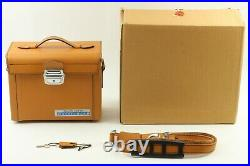 UNUSED TOP MINT Hasselblad Leather Case Beautiful Vintage Bag From JAPAN #1369