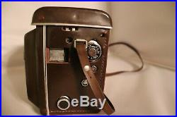 VINTAGE YASHICA 635 Film Camera with Leather Case RARE UNTESTED Read condition