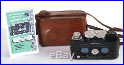 View-Master Personal Stereo Camera withLeather Case Tested & Working Sawyer 3D
