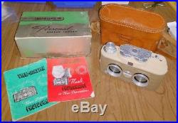 Viewmaster 3D Personal Stereo Camera with Leather Case