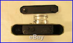 Vintage 1949 Canon IIB Camera No. 38012 withSerenar 50mm f/1.9 Lens & Leather Case