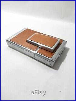 Vintage 1970s Polaroid SX-70 Land Camera with Leather Case and Original Manuals