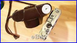 Vintage / Antique Canon Camera Model 610145 With Leather Carrying Case