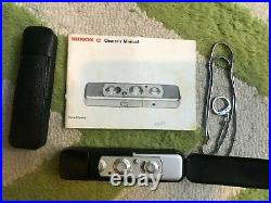 Vintage Minox C Spy Camera with Chain, 2 Leather Cases and Manual Fast Shipping