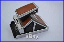 Vintage Polaroid SX-70 Land Camera With Accessories And Leather Carry Case