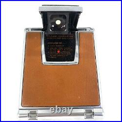 Vintage Polaroid Sx-70 Land Camera Alpha 1 With Leather Case Untested