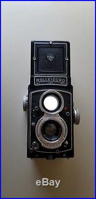 Vintage Rolleicord (DBP 1928381 DBGM) German Quality TLR Camera withLeather Case