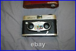 Vintage View Master Stereo Camera Perfect Working Order With Part Leather Case