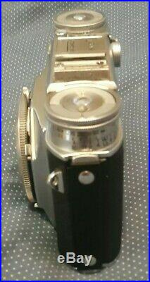 Voigtlander Prominent 35mm Camera w Ultron 12/50 Lens & Leather Case Germany