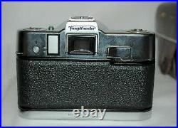 Voigtlander Ultramatic CS Camera with Septon 12/50 Lens Leather Case