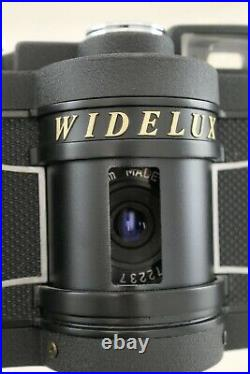 Widelux F7 35mm Ultra Wide Angle Swing Lens Panoramic Camera with leather case