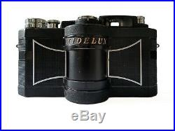 Widelux F8 35mm Panoramic Film Camera With Leather Case, Recent CLA