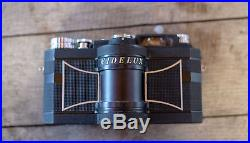 Widelux F8 35mm Panoramic Film Camera With Original Box and Leather Case