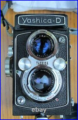 Yashica D Copal MXV Camera with Leather Case, Excellent Condition Bench Tested
