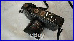 Yashica Electro 35 GTN Rangefinder Camera with leather casing