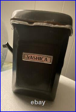 Yashica MAT-124GTLR FILM Camera Brown Leather Case RARE VG+ f3.5MM Double Lens