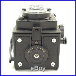 Yashica Mat 124 G + Leather Case Excellent 6x6 Medium Format Tlr Camera