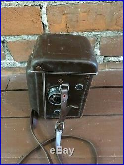 Yashica Mat-124 Tlr Camera With Leather Case 80mm Made In Japan
